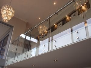 Frameless Balustrade using Toughened Glass